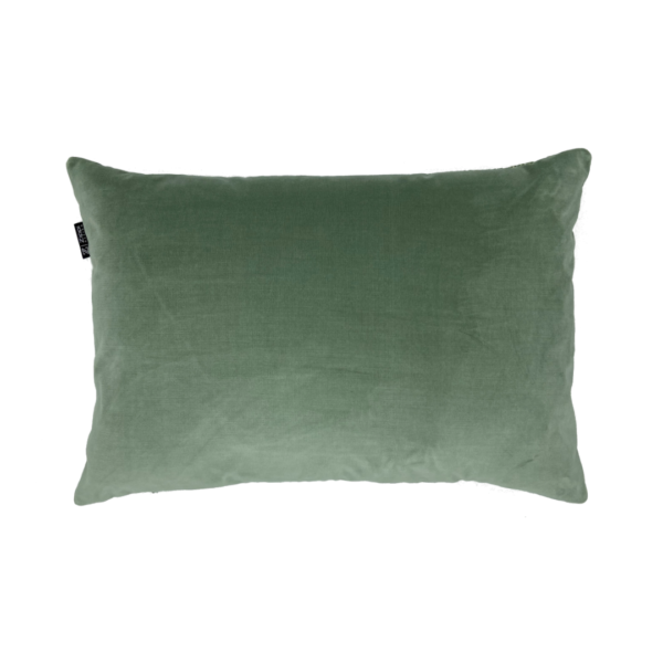 Groen fluweel sierkussen velvet velours mooi kwaliteit luxe Zippi design kussen
