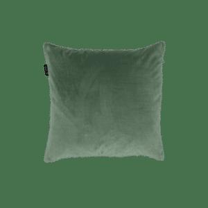 Groen sierkussen velvet velours fluweel mooi kwaliteit kussen Zippi design