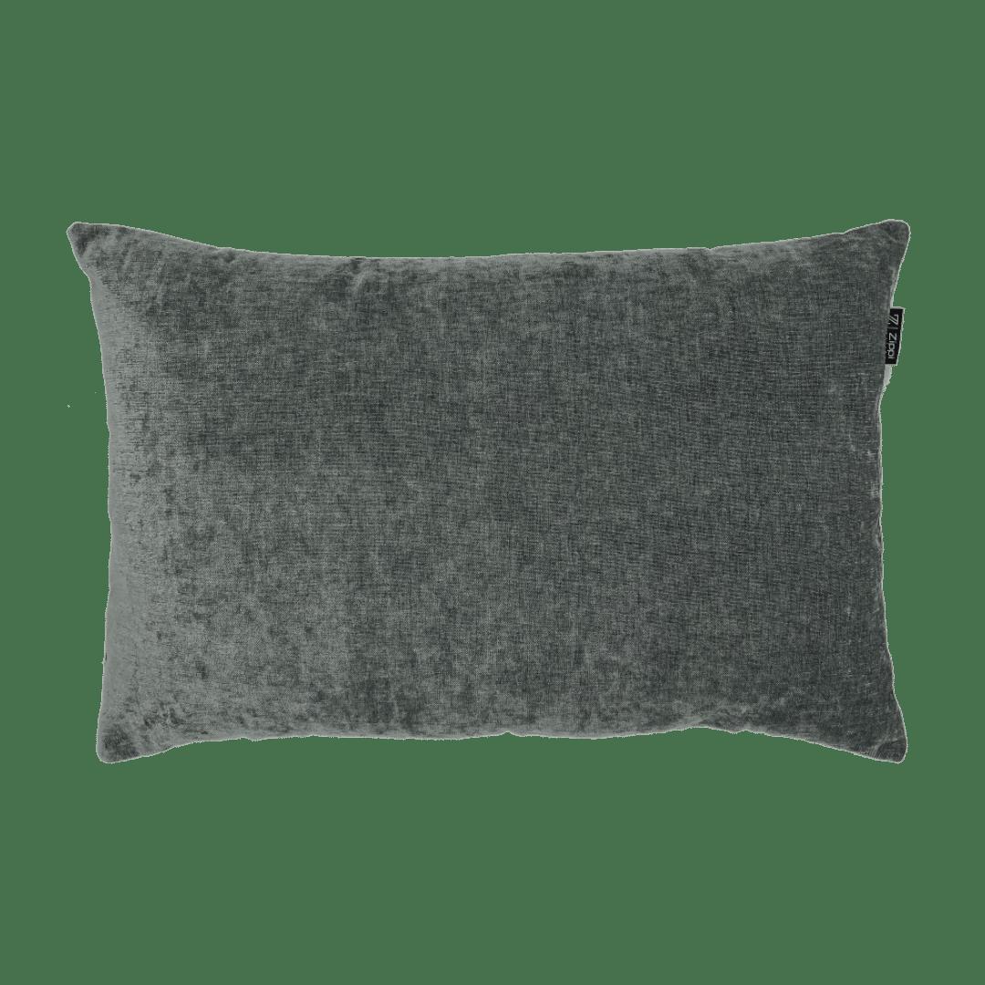 Grijs sierkussen kwaliteit zippi design mooi kussens