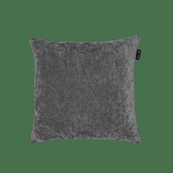 Grijs sierkussen mooi kwaliteit luxe Zippi design mooi kussens