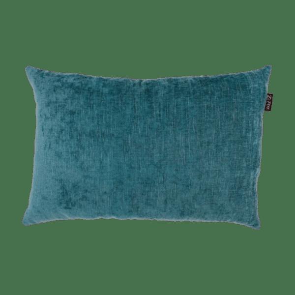 blauw sierkussen zippi design