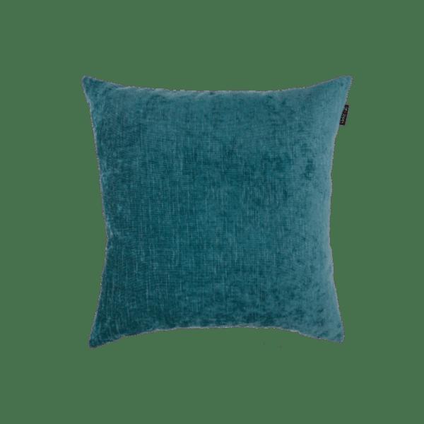 Petrol sierkussen blauw kussen Zippi design buiten interieur luxe kwaliteit