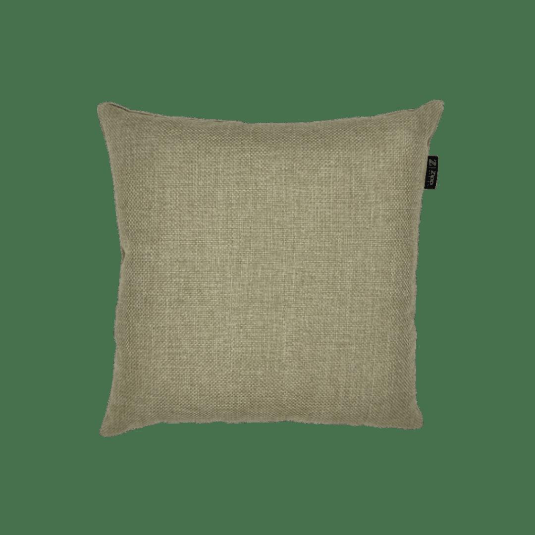 Zand goud sierkussen beige bruin kussen luxe velvet velours zippi design