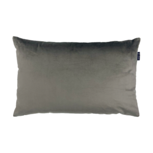 Antraciet grijs velvet velours fluweel zippi kussens design sierkussen