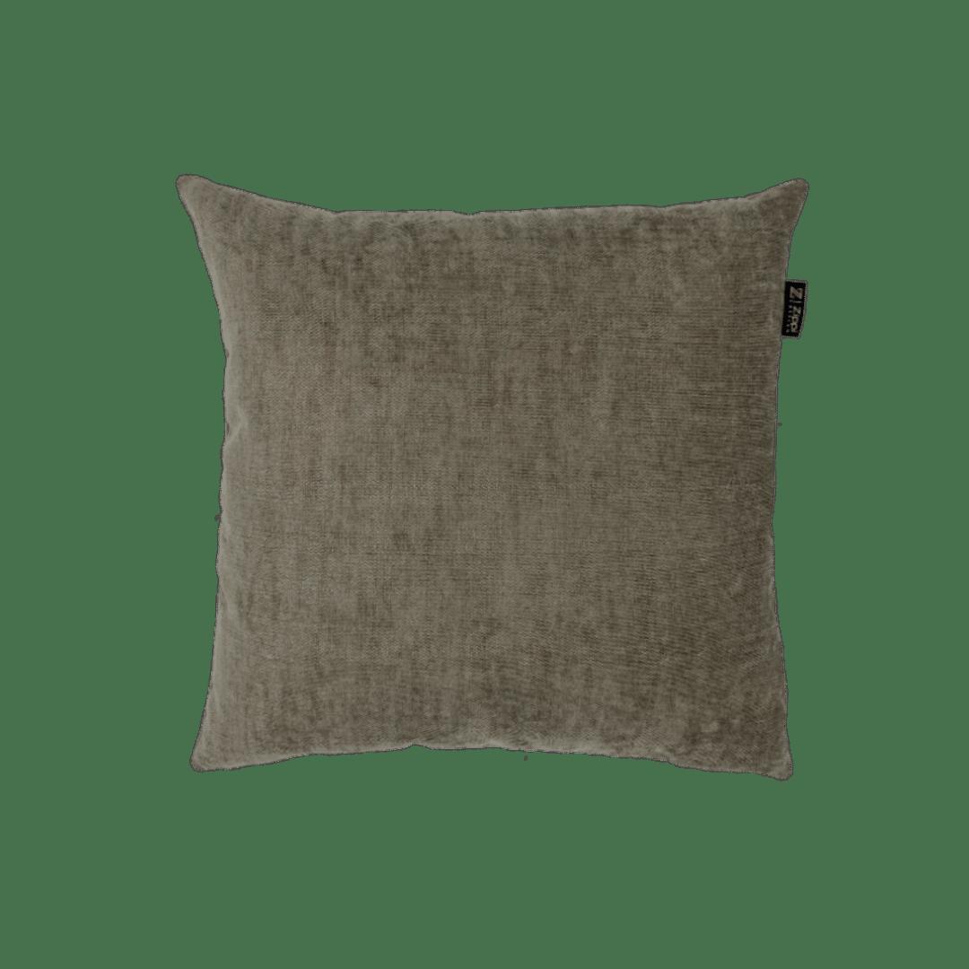 Grijs bruin sierkussen Zippi design luxe kwaliteit mooi kussens