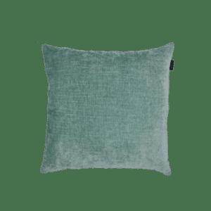 Aqua mint groen velours velvet sierkussen zippi design kwaliteit luxe mooi kussens