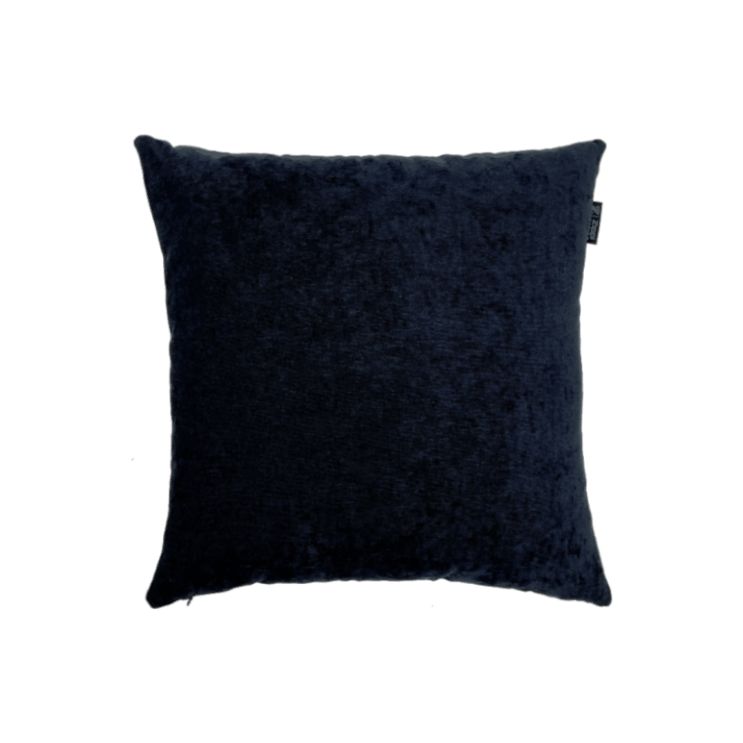 Zwart sierkussen groot glans mooi luxe kwaliteit kussens Zippi design