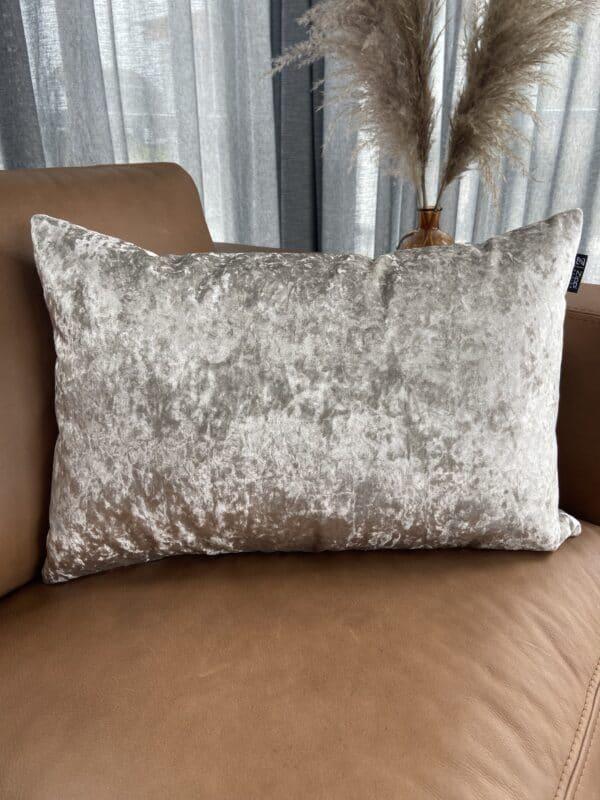 goud velvet zippi design luxe fluweel